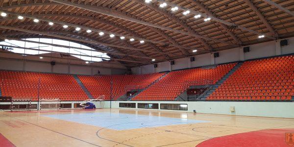 Градоначелник Града Пожаревца Бане Спасовић са сарадницима обишао радове на реконструкцији Спортског центра