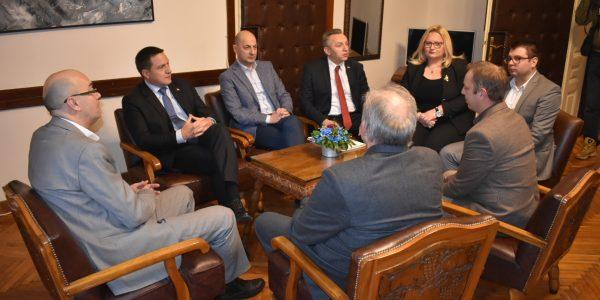 Министар државне управе и локалне самоуправе Бранко Ружић посетио Пожаревац