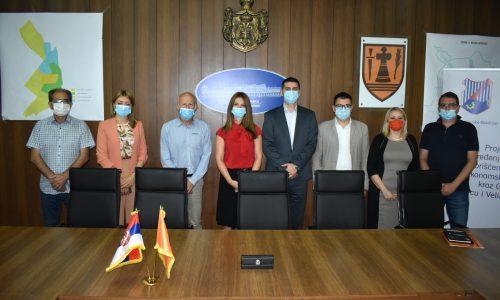 Град Пожаревац је закључио Споразум о унапређењу локалног географско информационог система (ГИС)
